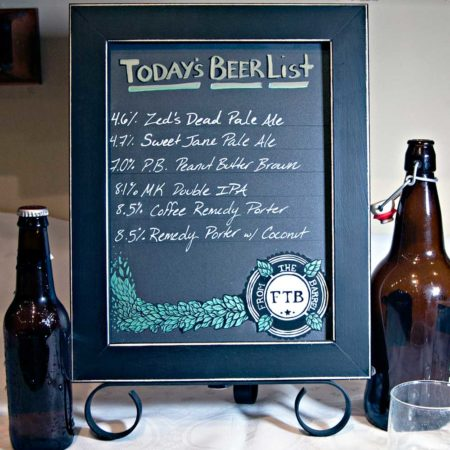 Cohas EZ to change Table Top chalk board signs great for DIY Project, DIY Weddings, Made Here in America