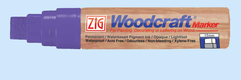 Woodcraft Markers 15mm Wild Heather